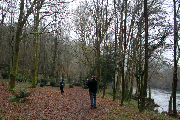Areal de Berres, a natural space at the Ulla river