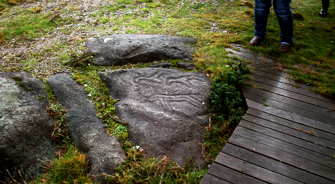 Looking for rock art in Galicia bronze age spain