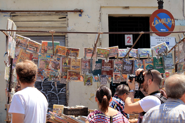 a visit to El Rastro flea market in madrid