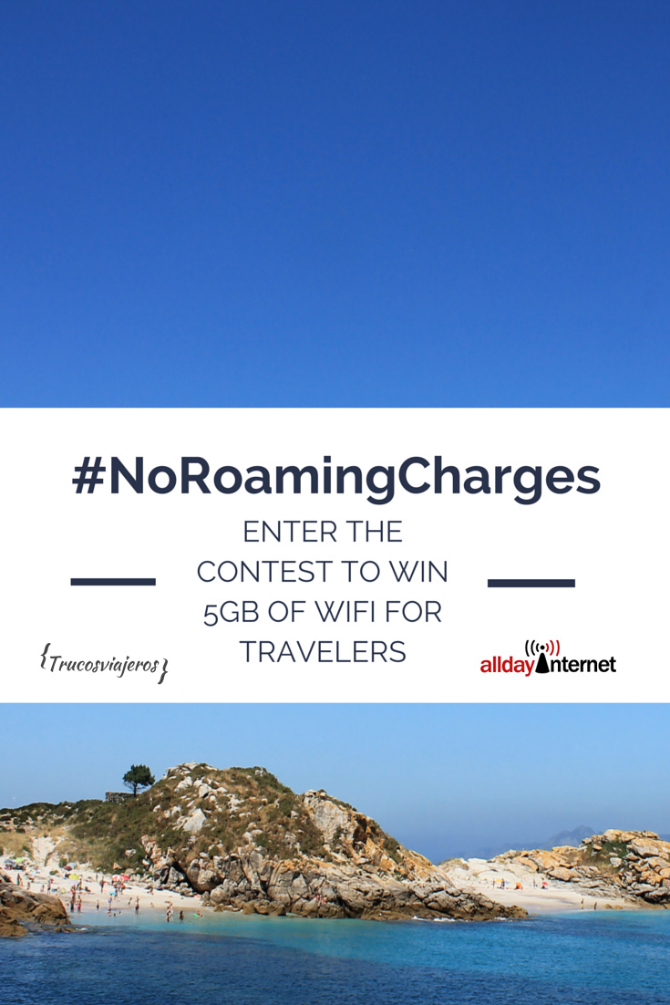 5GB data plan for travelers giveaway with AlldayInternet and @trucosviajeros