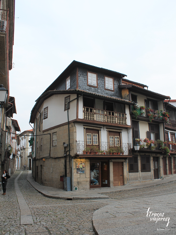 Quirky houses Guimaraes World Heritage Site