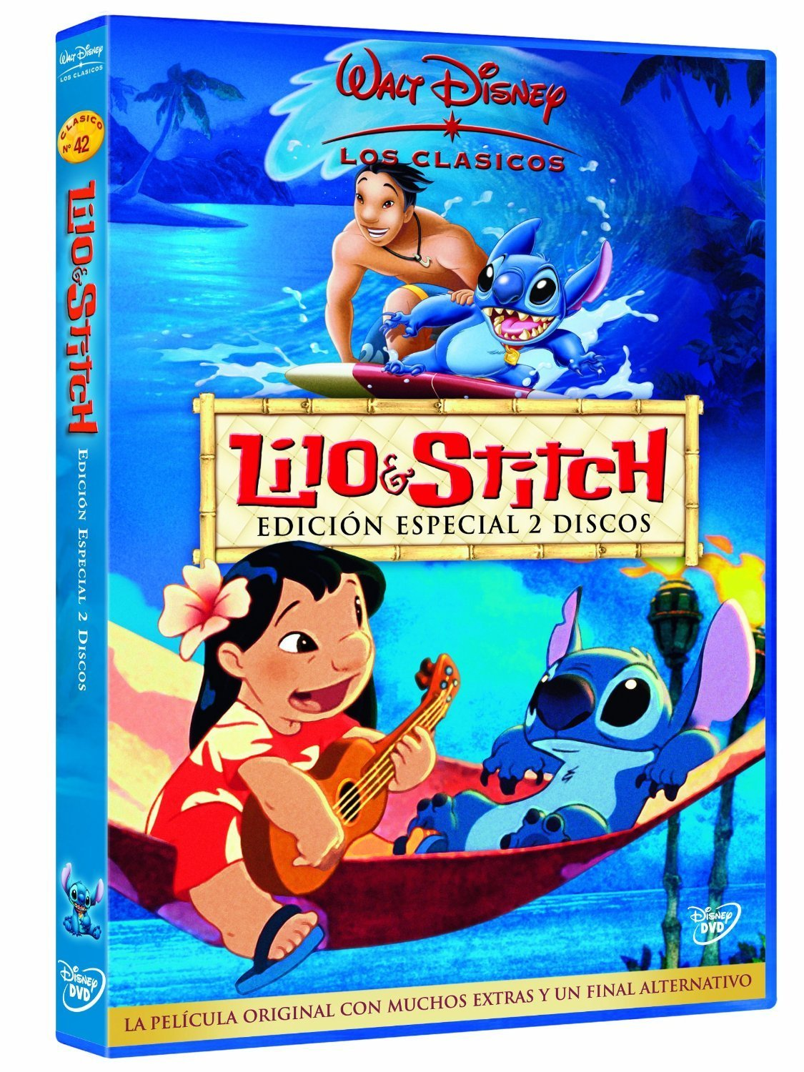 Lilo y Stitch dibujos animados Hawaii