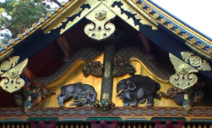 Sonozono elephants Nikko temples Unesco World Heritage