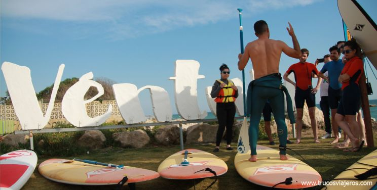 paddle surf en Chipiona