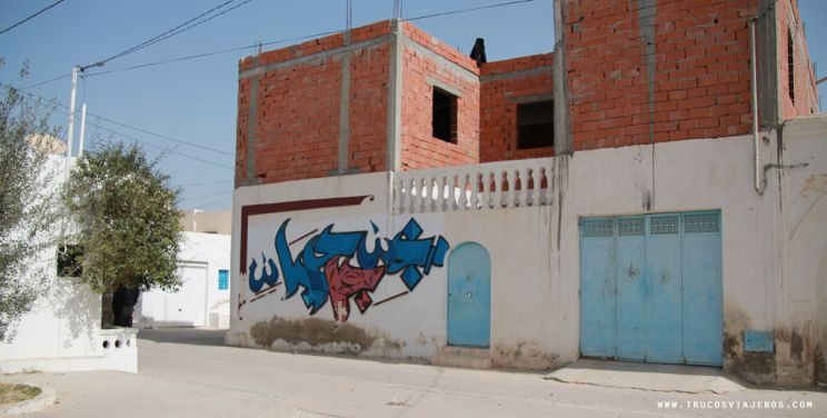street art graffiti tunisia djerba