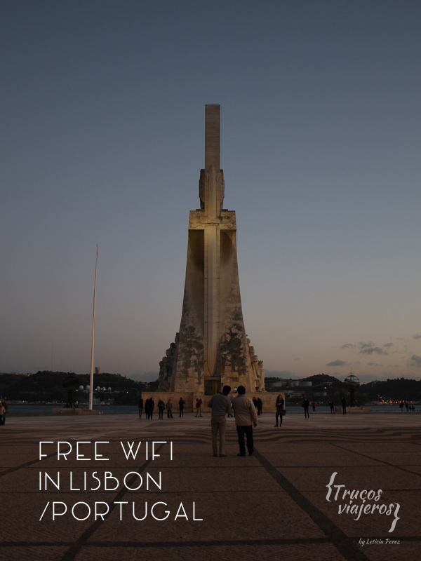 Where to find free wifi in Lisbon Portugal