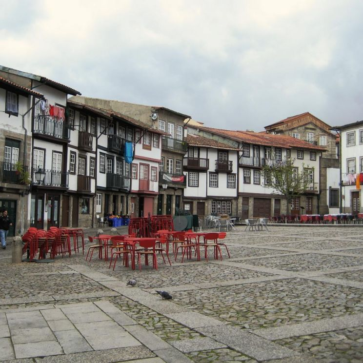 traditional houses in guimaraes portugal