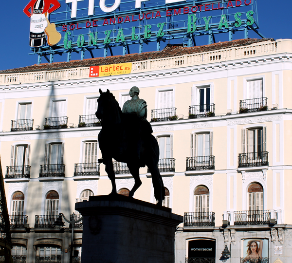 Cartel Tio Pepe Madrid