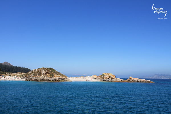 hidden beaches at cies islands