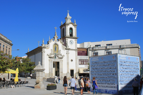 Vila Praia de Ancora church