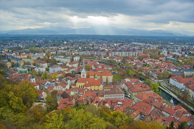 Ljubljana city view from Vladimir Yaitskiy kronny on Flickr