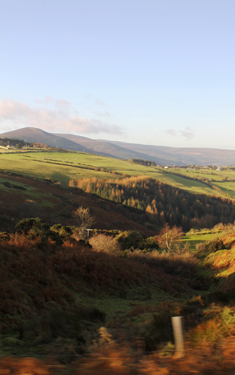 Valles de Wicklow Irlanda