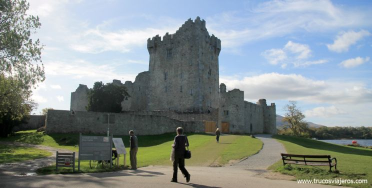 Castillo de Ross Killarney Irlanda
